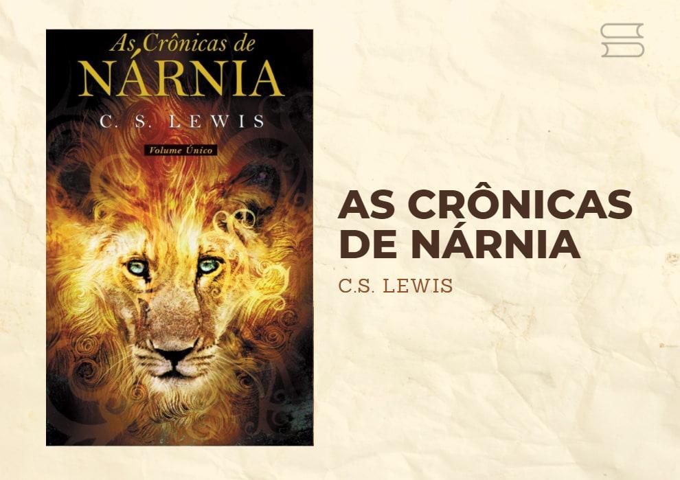 livro as cronicas de narnia