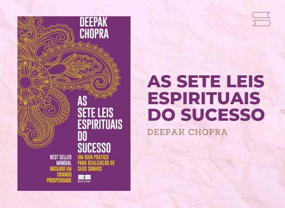 livro as sete leis espirituais do amor