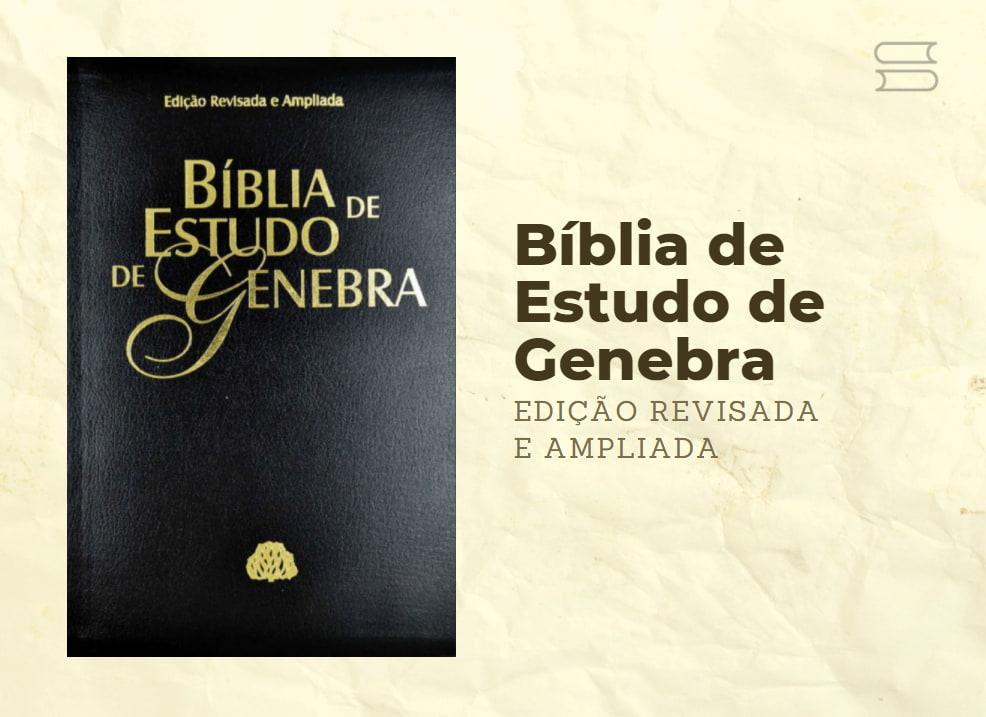 livro biblia de estudo de genebra revisada