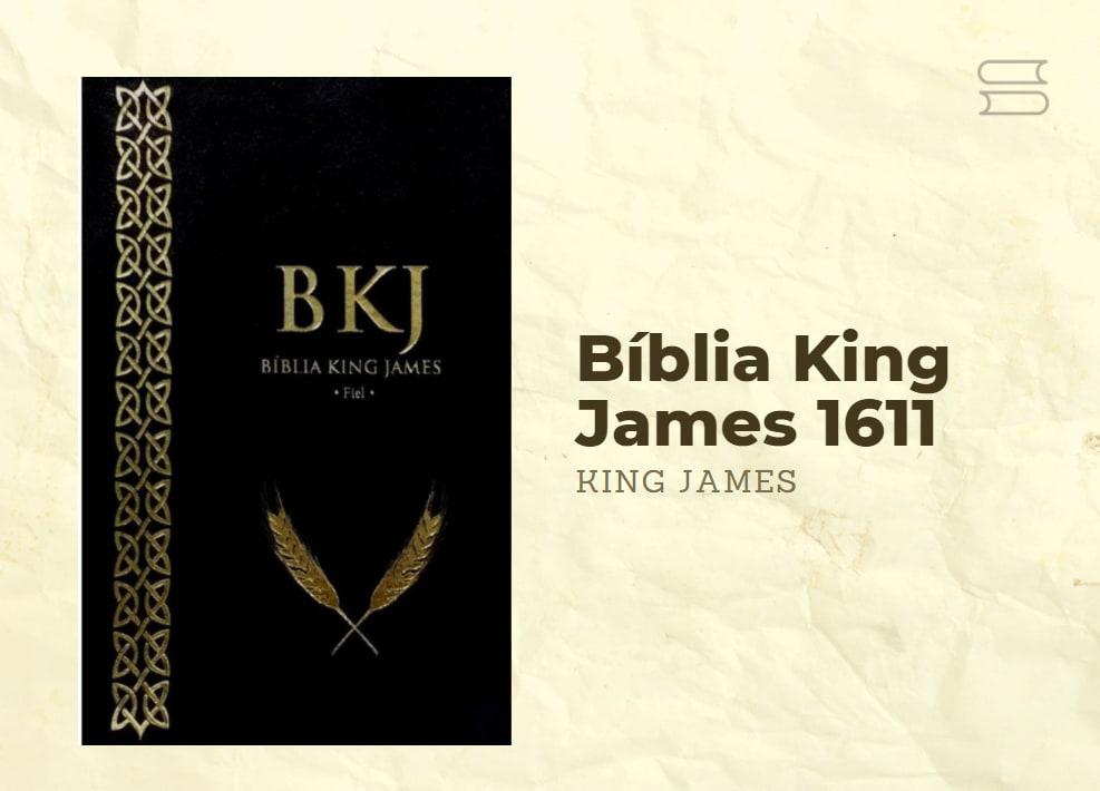 livro biblia king james 1611