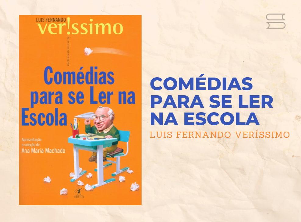 livro comedias para se ler na escola