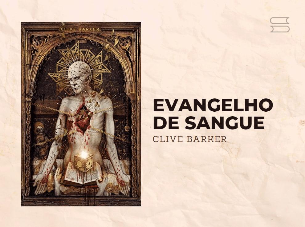 livro evangelho de sangue