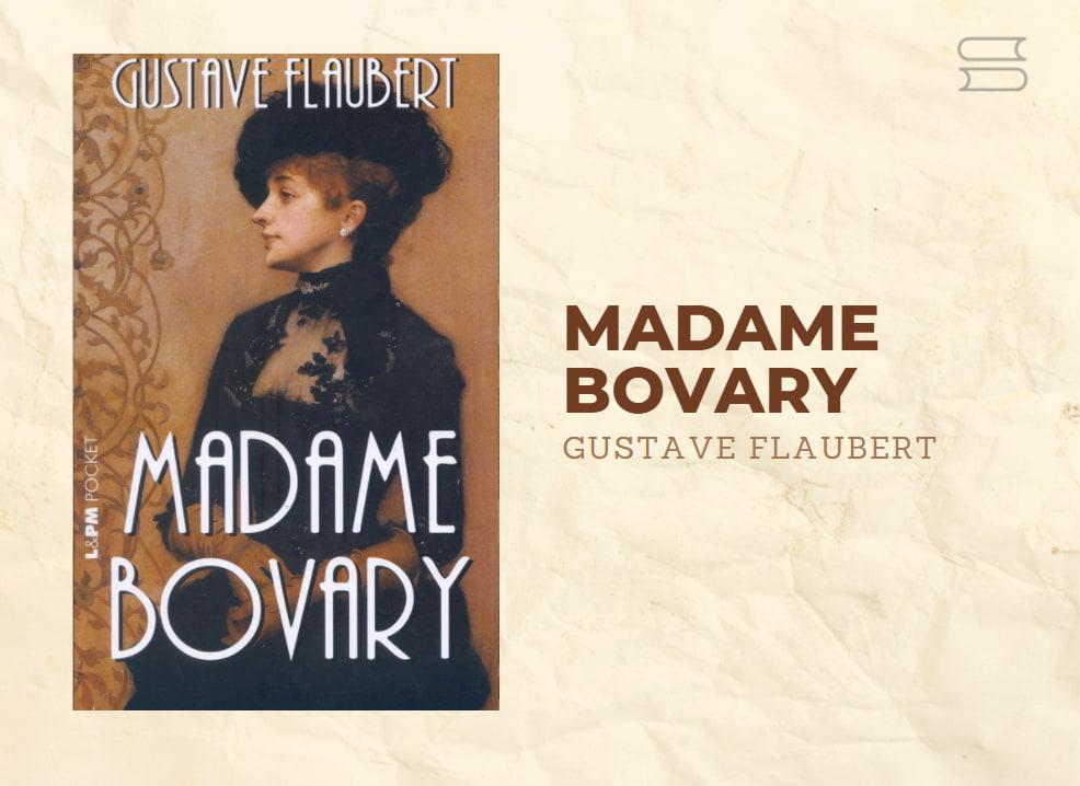 livro madame bovary