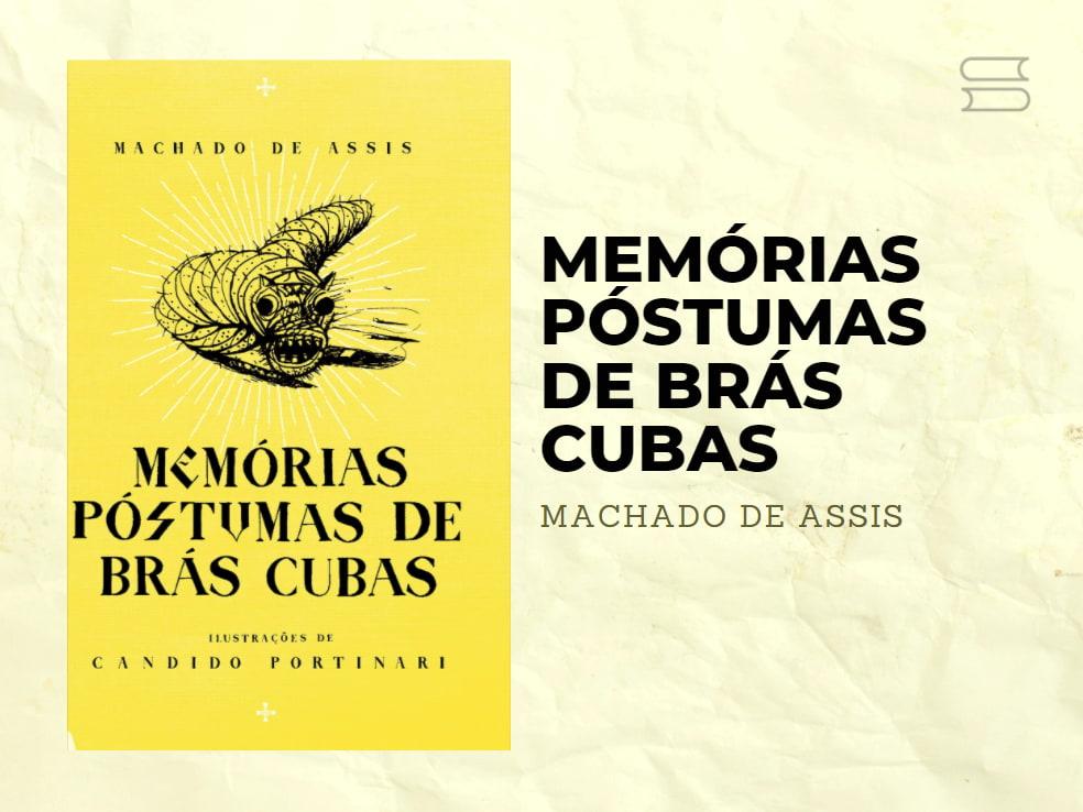 livro memorias postumas de bras cubas