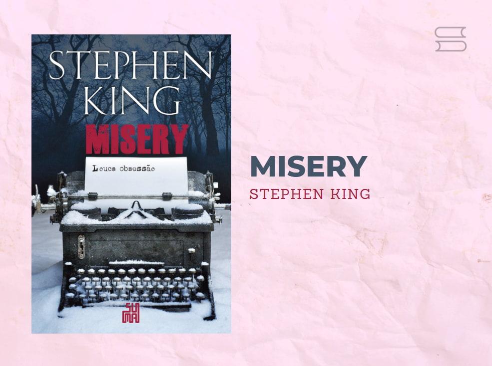 livro misery