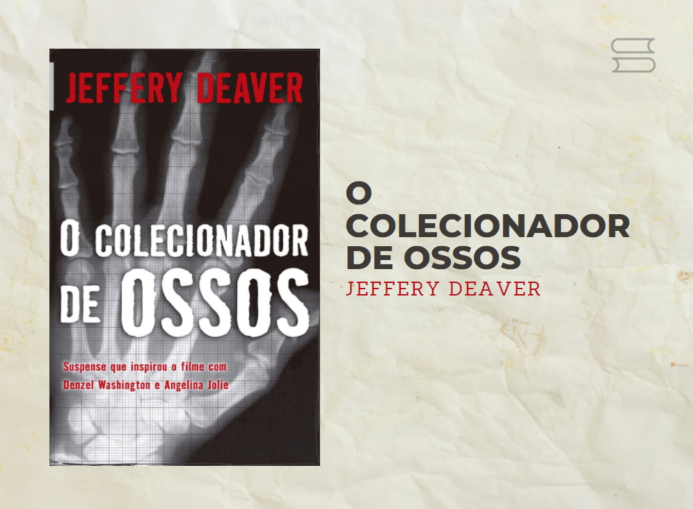 livro o colecionador de ossos