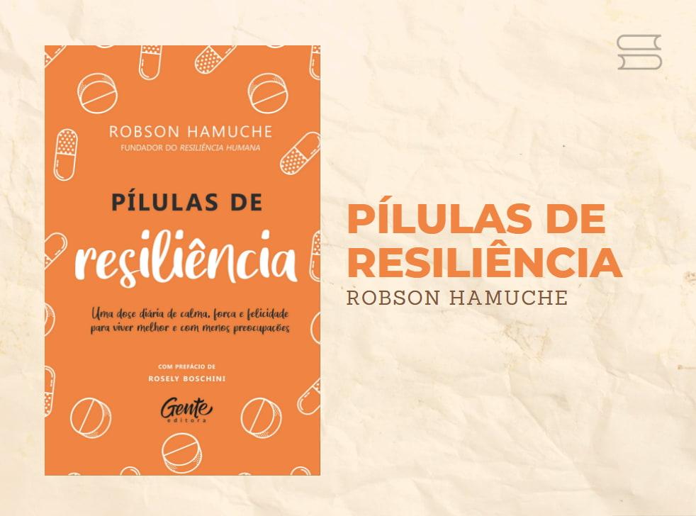 livro pilulas de resiliencia