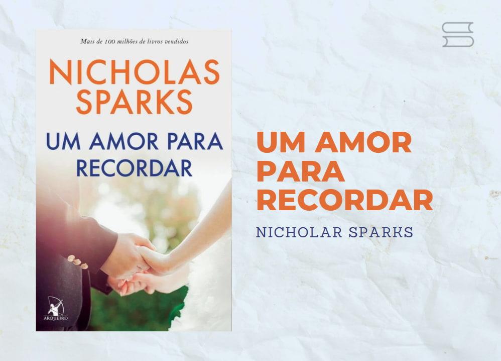 livro um amor para recordar1