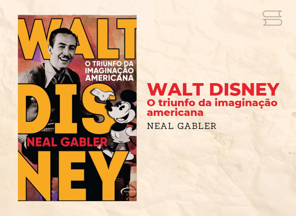 livro walt disney