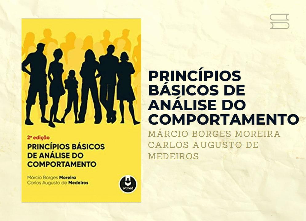 livro principios basicos de analise do comportamento