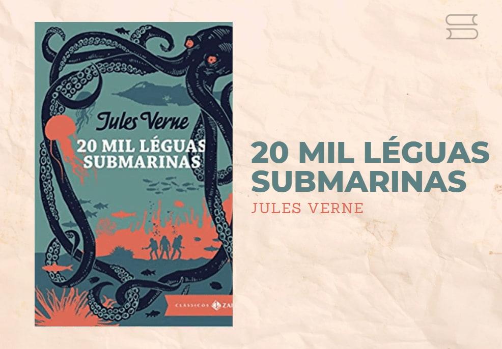 livro 20 mil leguas submarinas
