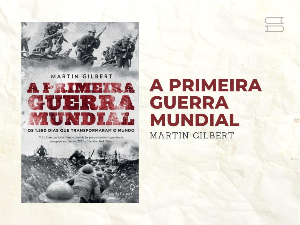 livro a primeira guerra mundial