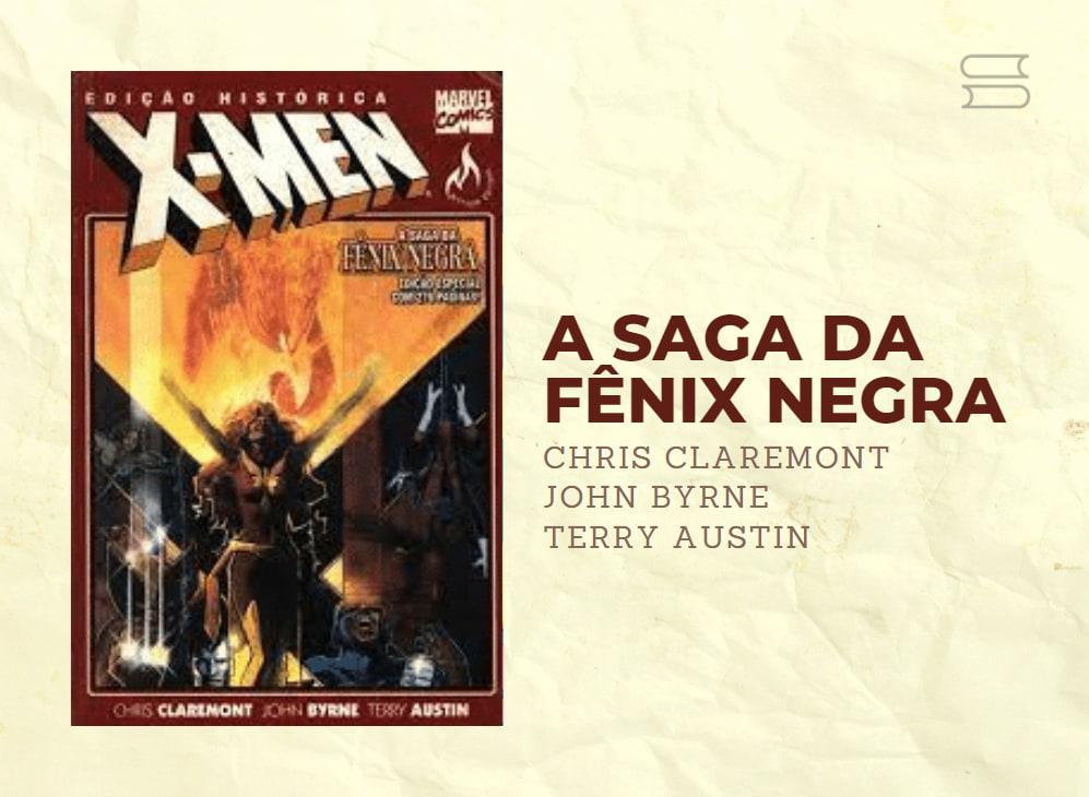 livro a saga da fenix negra