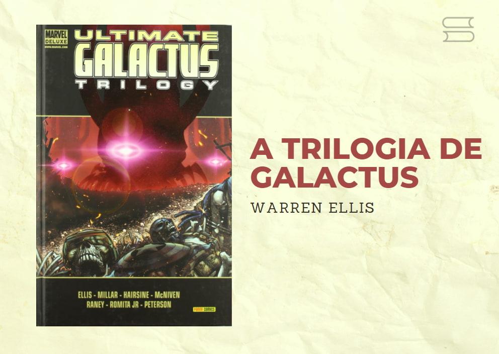 livro a trilogia de galactus