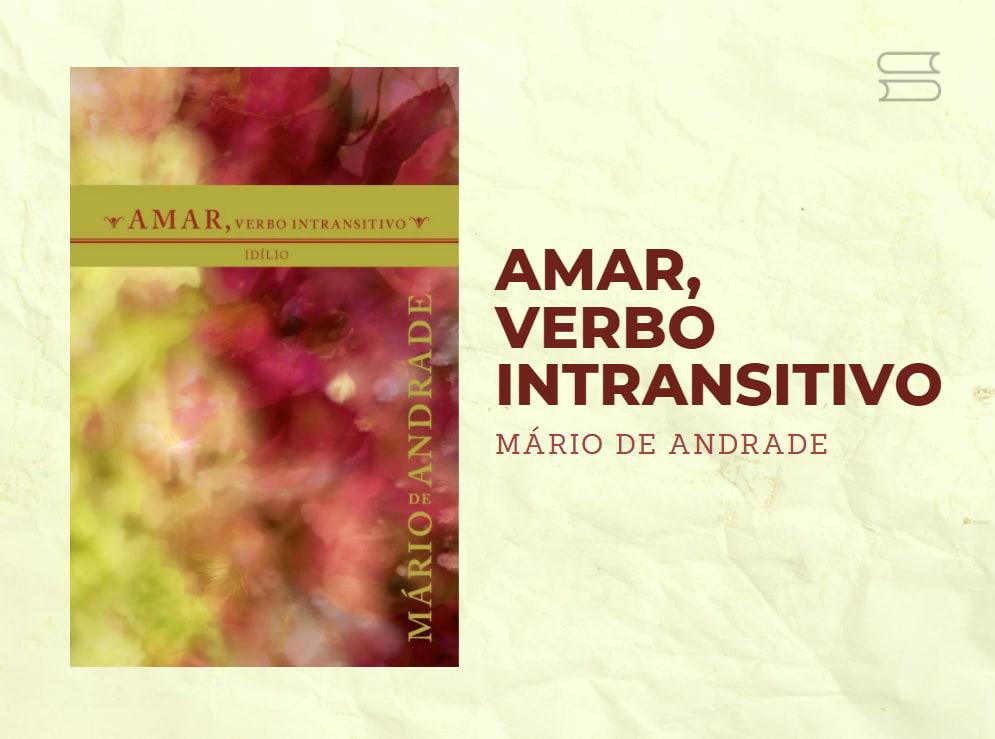 livro amar verbo intransitivo