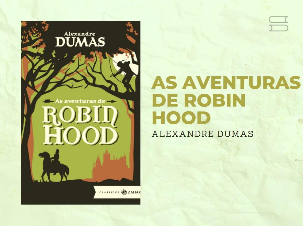 livro as aventuras de hobin hood