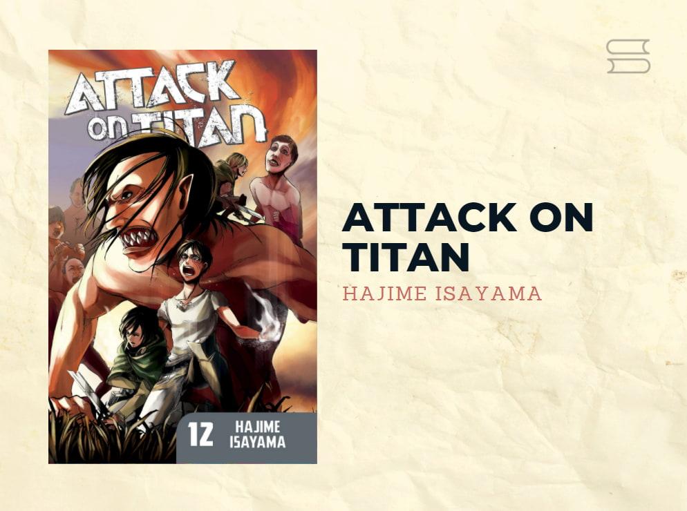 livro attack on titan