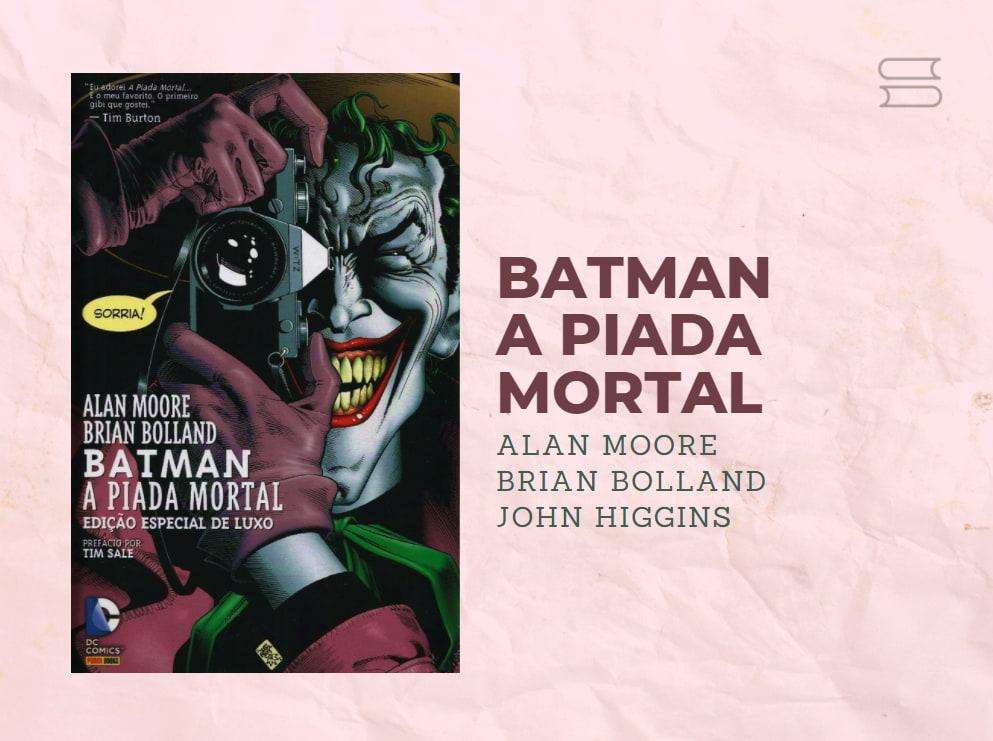 livro batman a piada mortal
