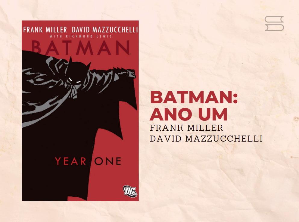 livro batman ano um