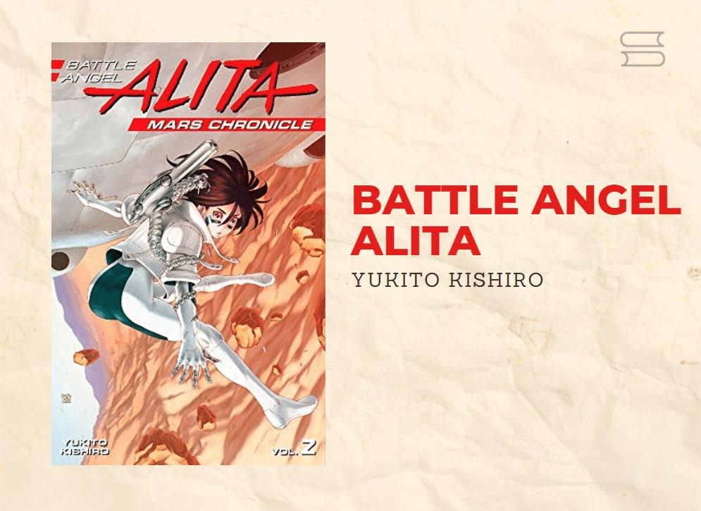 livro battle angel alita