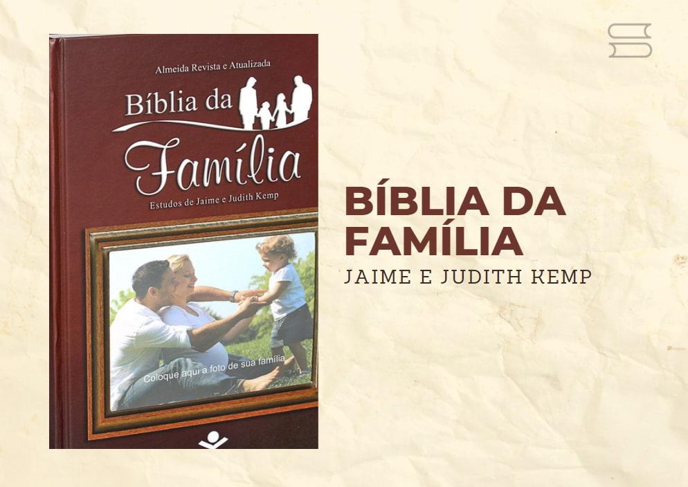 livro biblia da familia