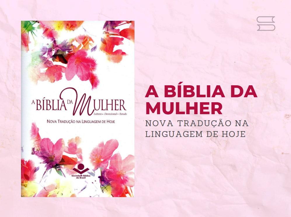 livro biblia da mulher na linguagem de hoje