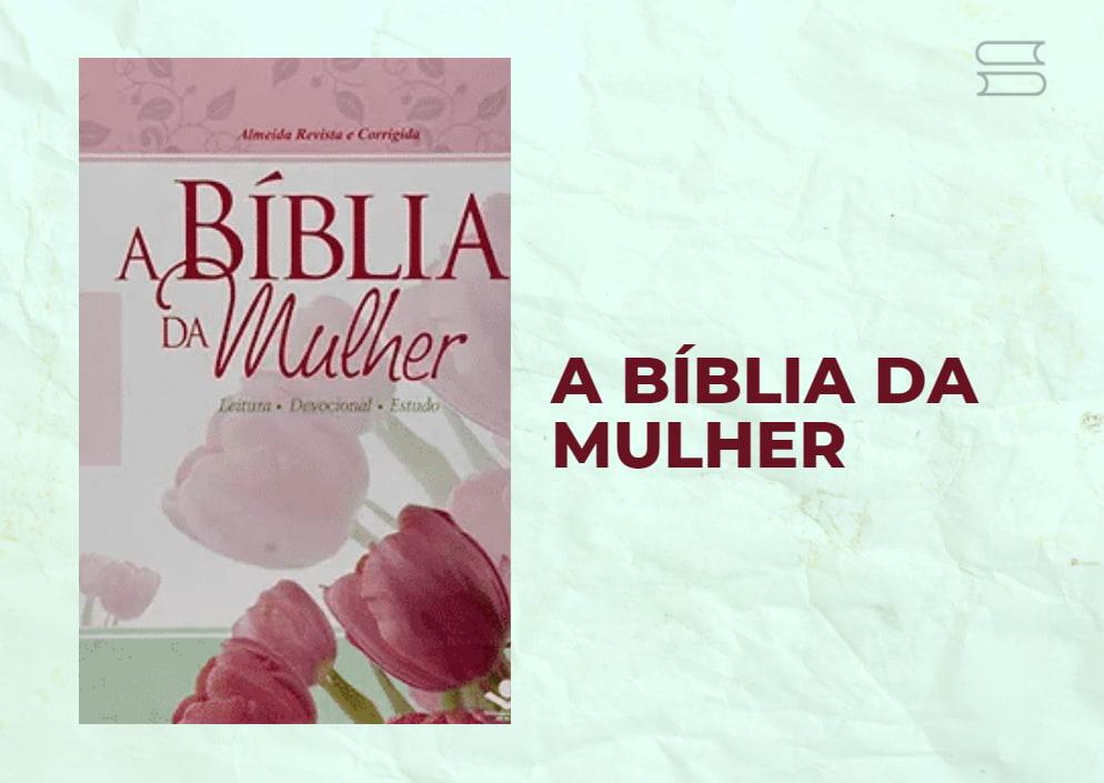 livro biblia da mulher