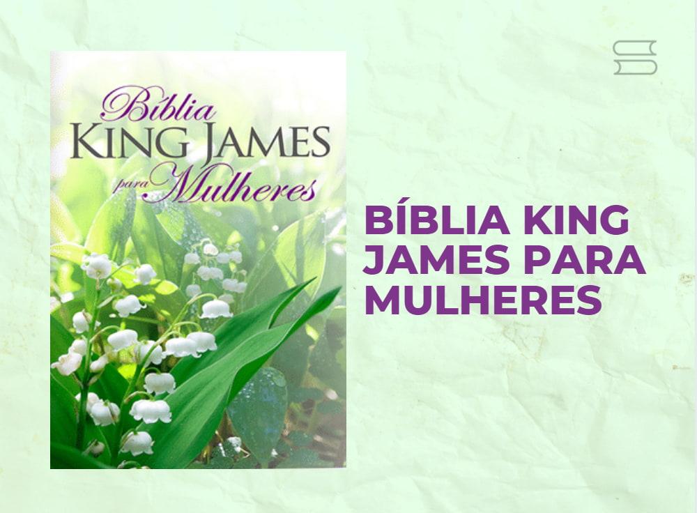 livro biblia king james para mulheres