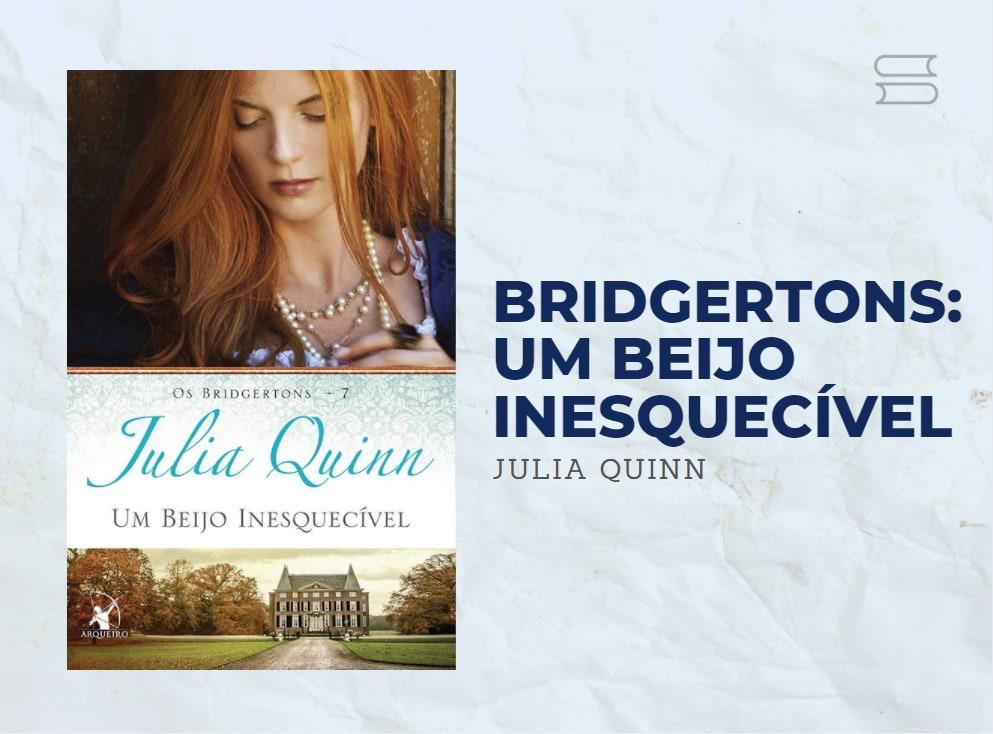 livro bridgertons um beijo inesquecivel