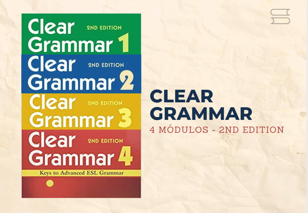 livro clear grammar