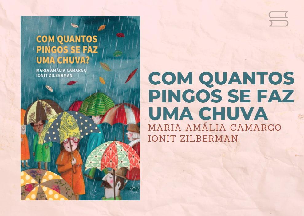 livro com quantos pingos se faz uma chuva