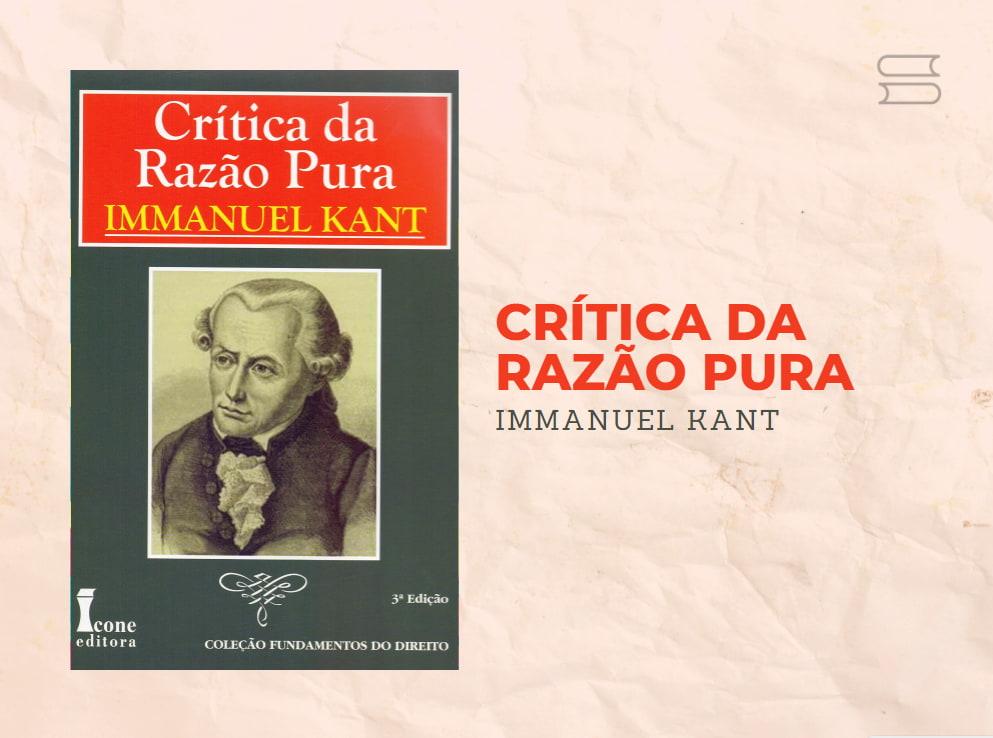 livro critica da razao pura