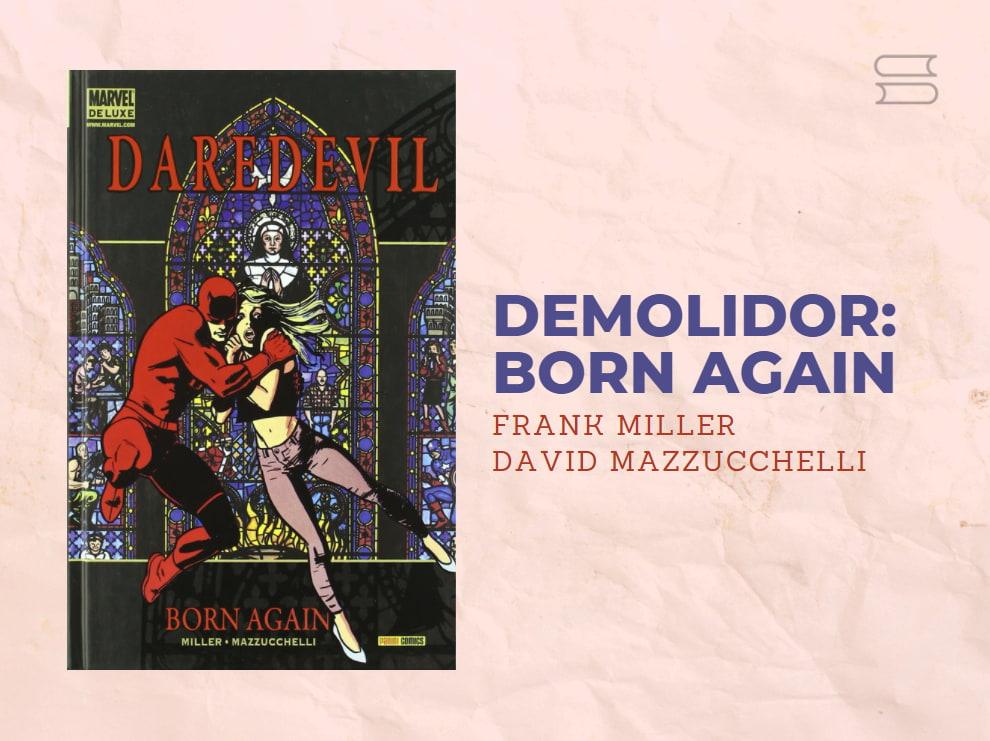 livro demolidor born again