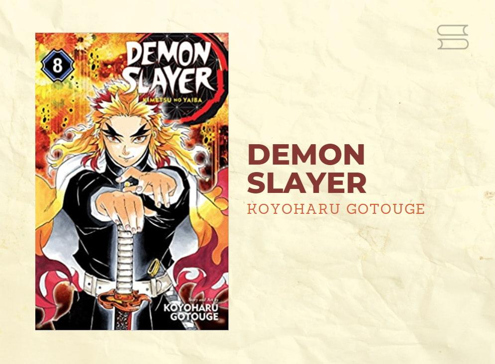 livro demon slayer