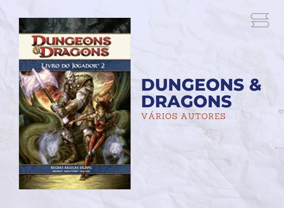 livro dungeos e dragons