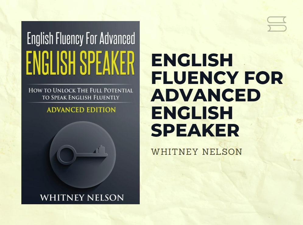 livro english fluency for advanced english speaker