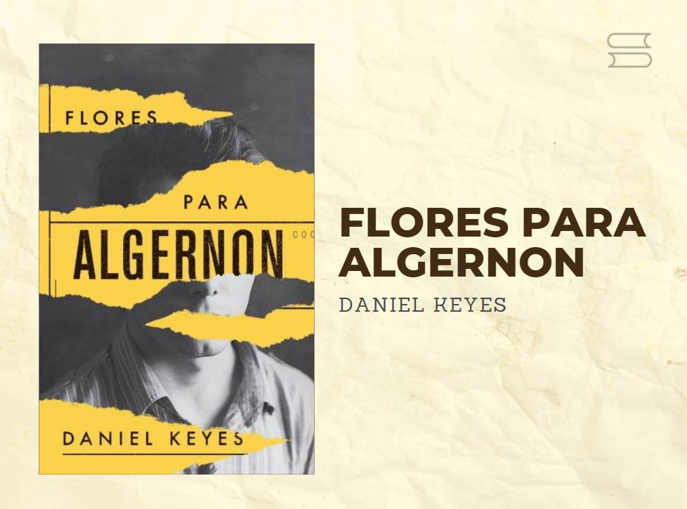 livro flores para algernon