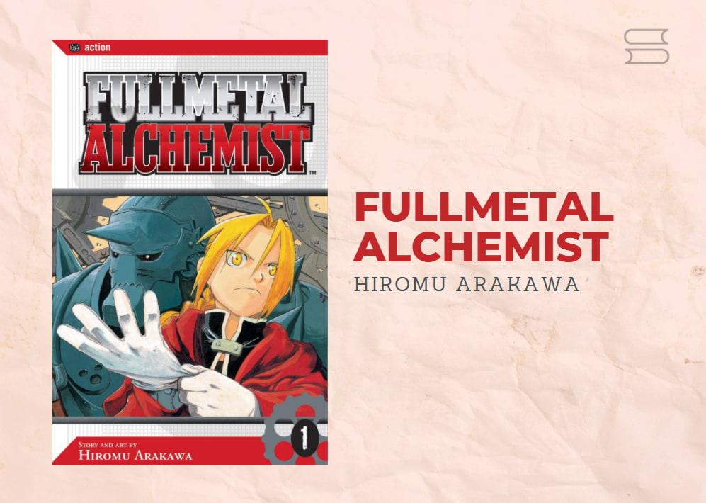 livro fullmetal alchemist