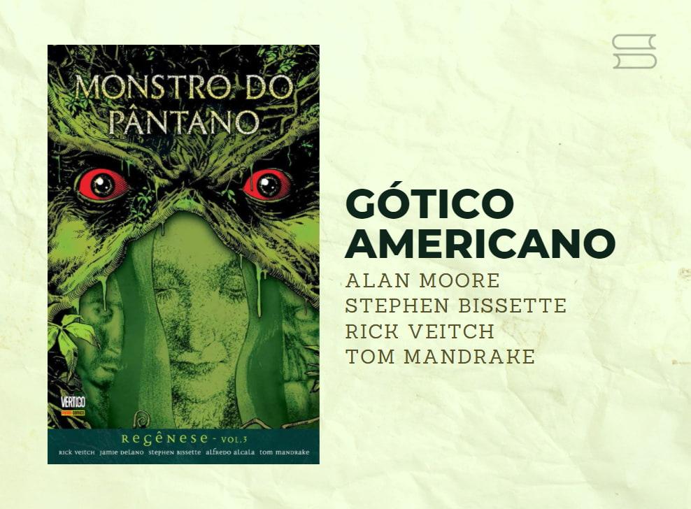 livro gotico americano