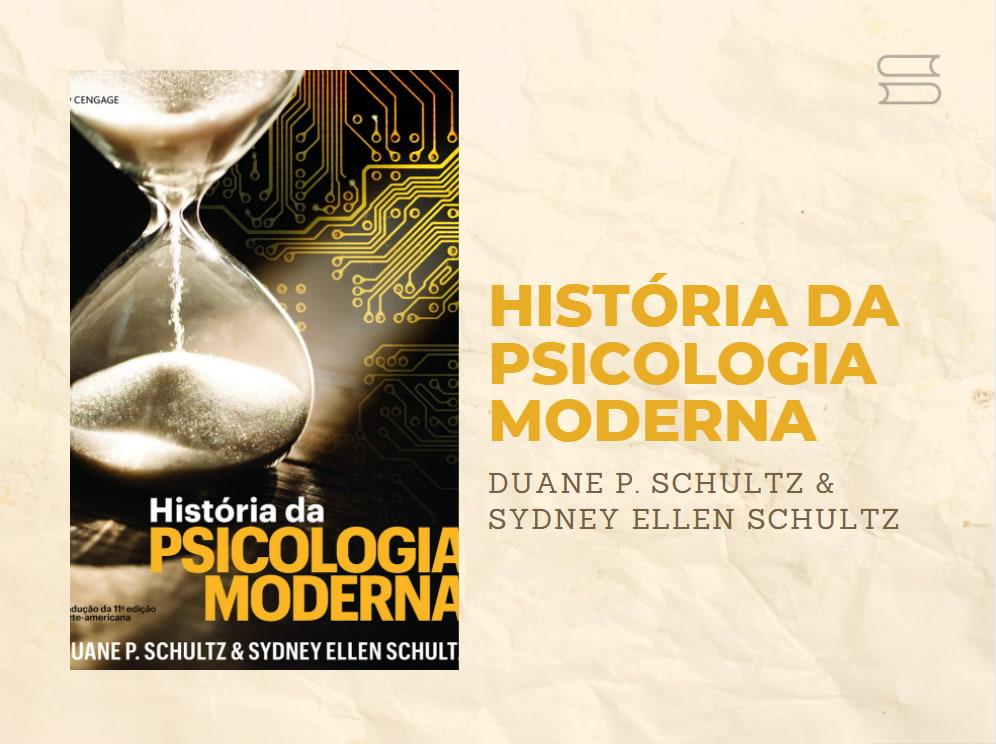 livro historia da psicologia moderna