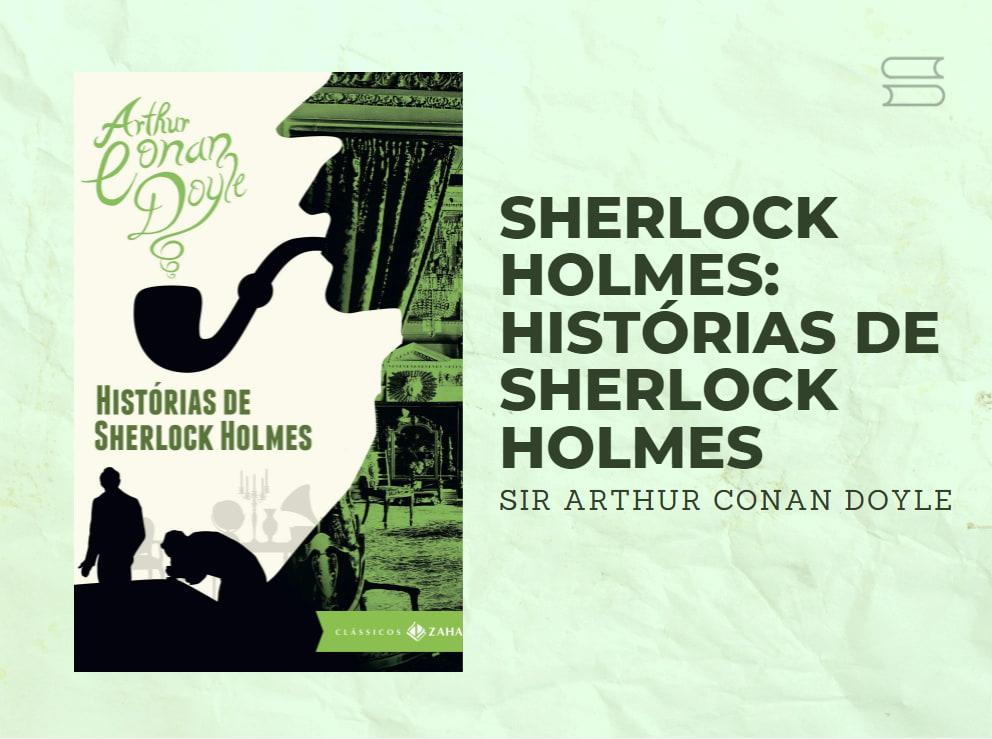 livro historias de sherlock holmes