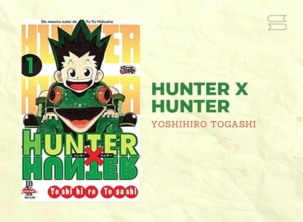 livro hunterxhunter