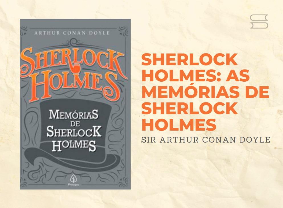livro memorias de sherlock holmes