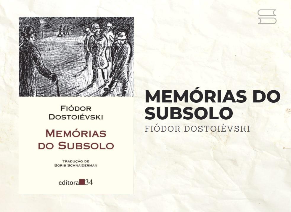 livro memorias do subsolo