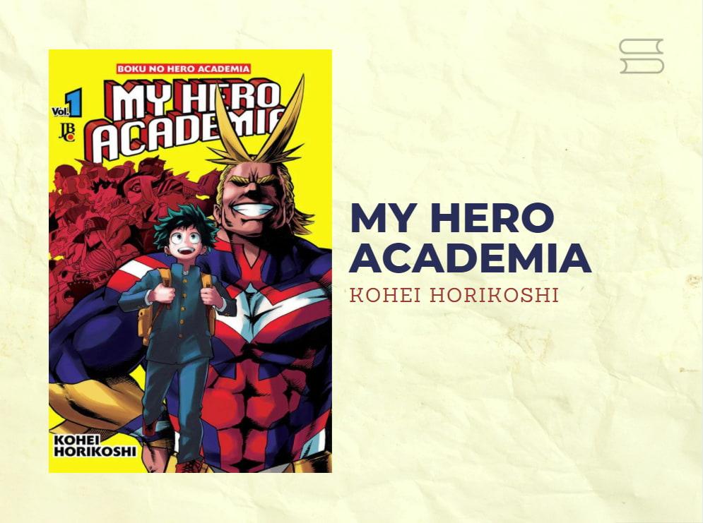 livro my hero academia