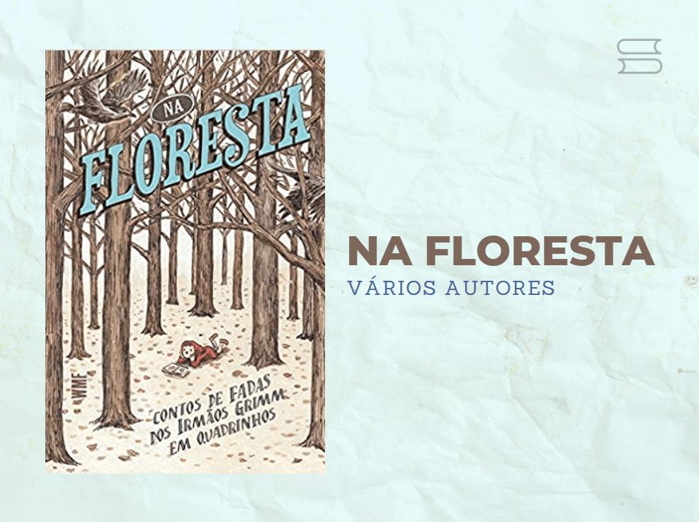 livro na floresta