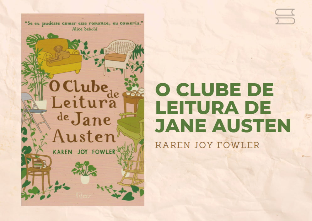 livro o clube de leitura de jane austen