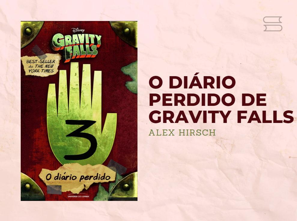 livro o diario perdido de gravity falls