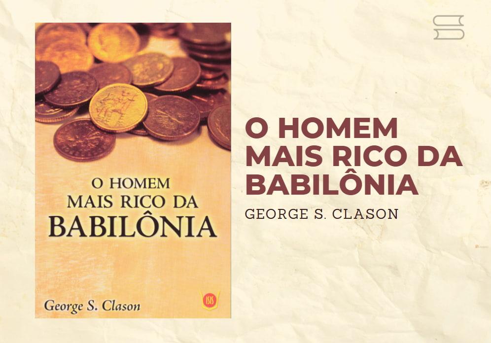 livro o homem mais rico da babilonia