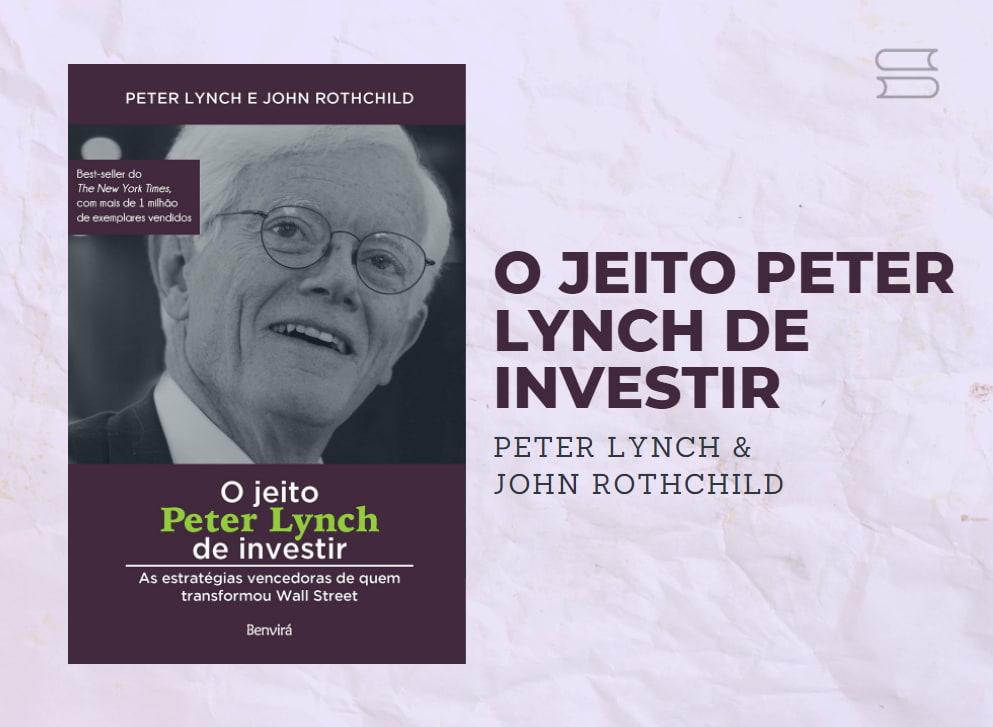 livro o jeito peter lynch de investir